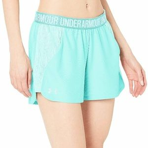 [Under Armour] Play Up Jacquard Inset Shorts NWT